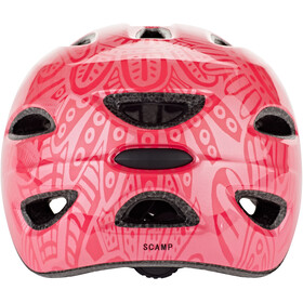 Giro Scamp Helm Kinder bright pink/pearl